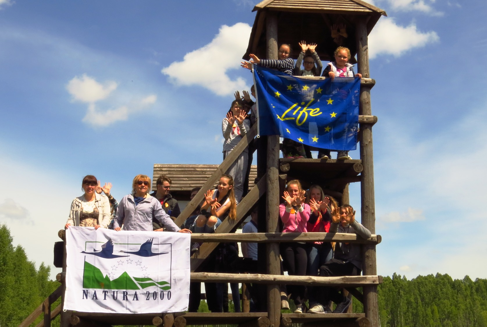 Lithuanian Ornithological Society. N2000 Day at Tyruliai bog.