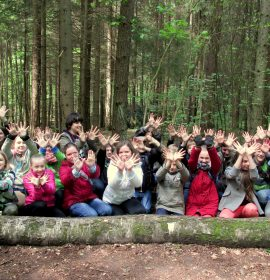 Lithuanian Fund for Nature and schoolchildren from J. Basanavičiaus progymnasium (Vilnius, Lithuania)