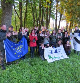 Natura 2000 day. Night voices of Tyruliai wetland