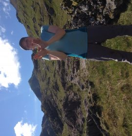 Fluttering my wings for Natura2000 while doing a butterfly survey on Snowdon. UK