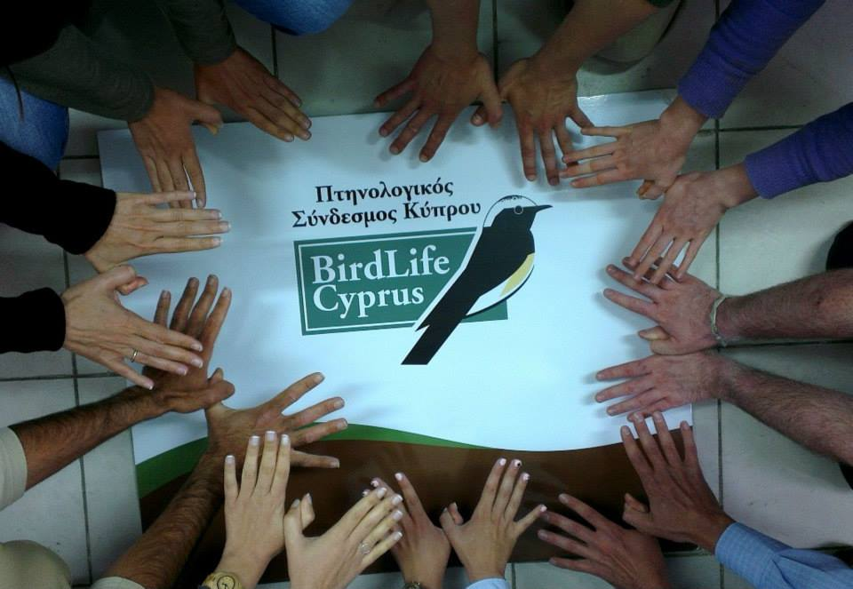 BirdLife Cyprus office joining all together for Natura 2000