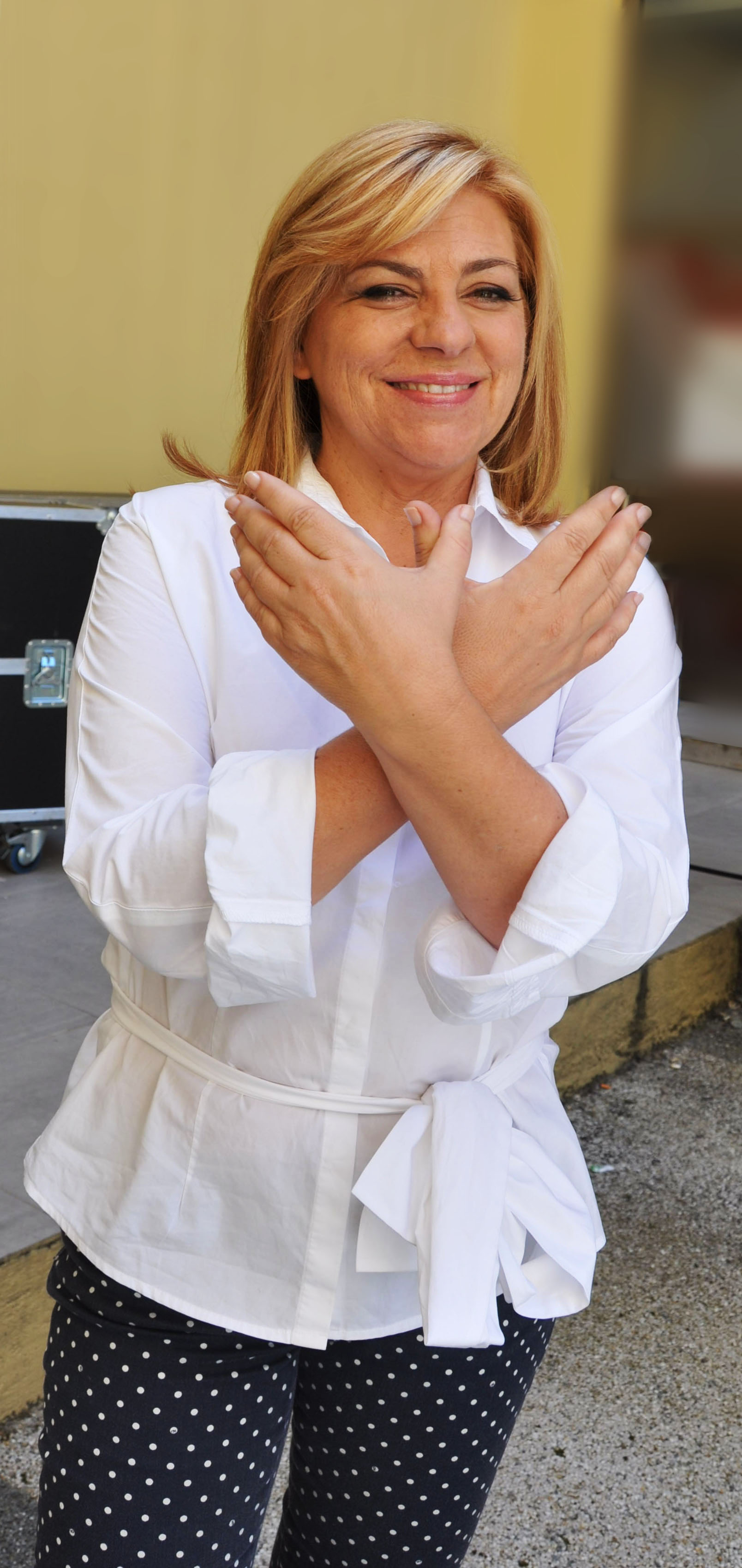 Elena Valenciano,  candidata del PSOE al Parlamento Europeo