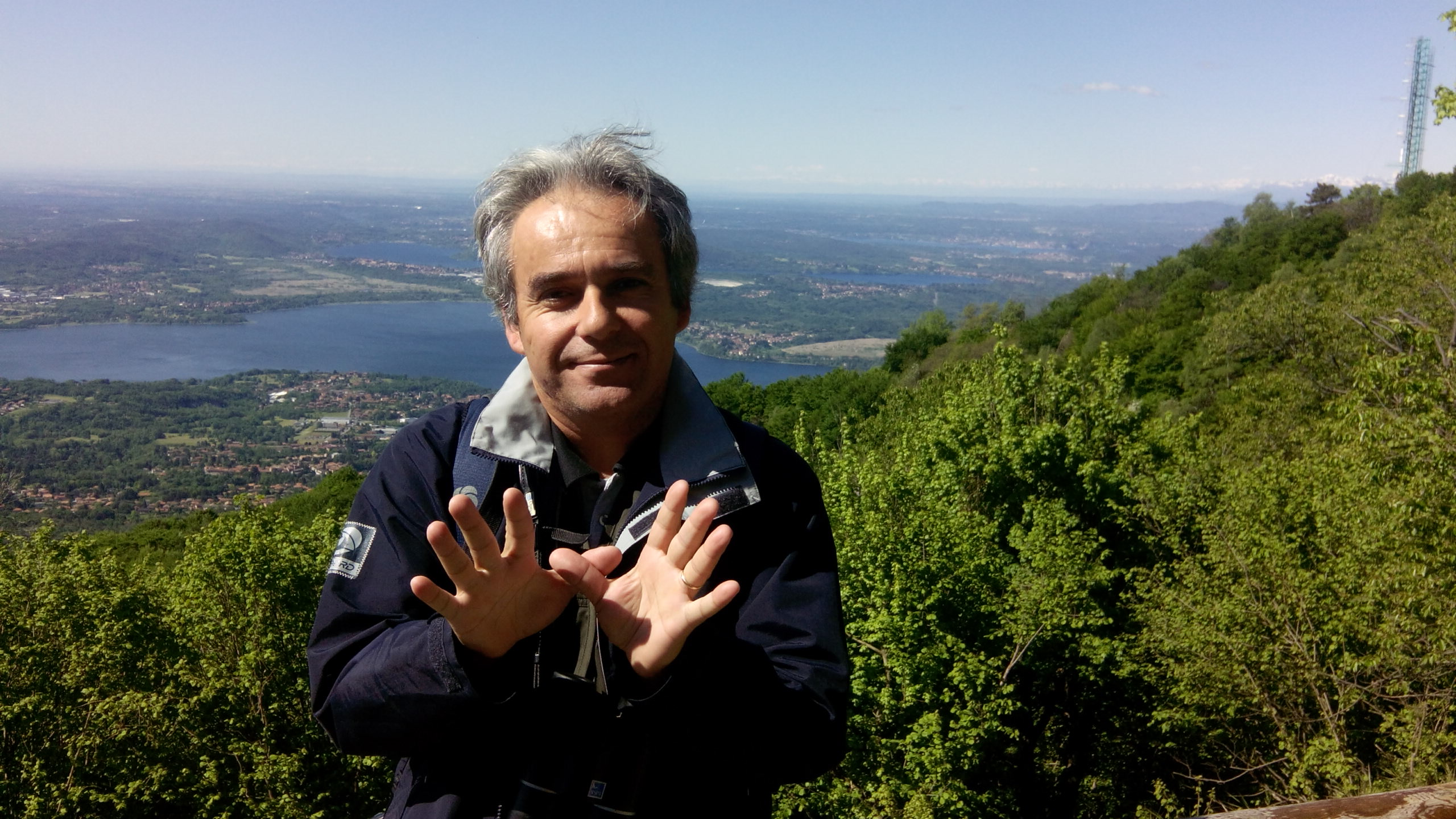 Domingos L from SPEA at BirdLife Meeting in Italy