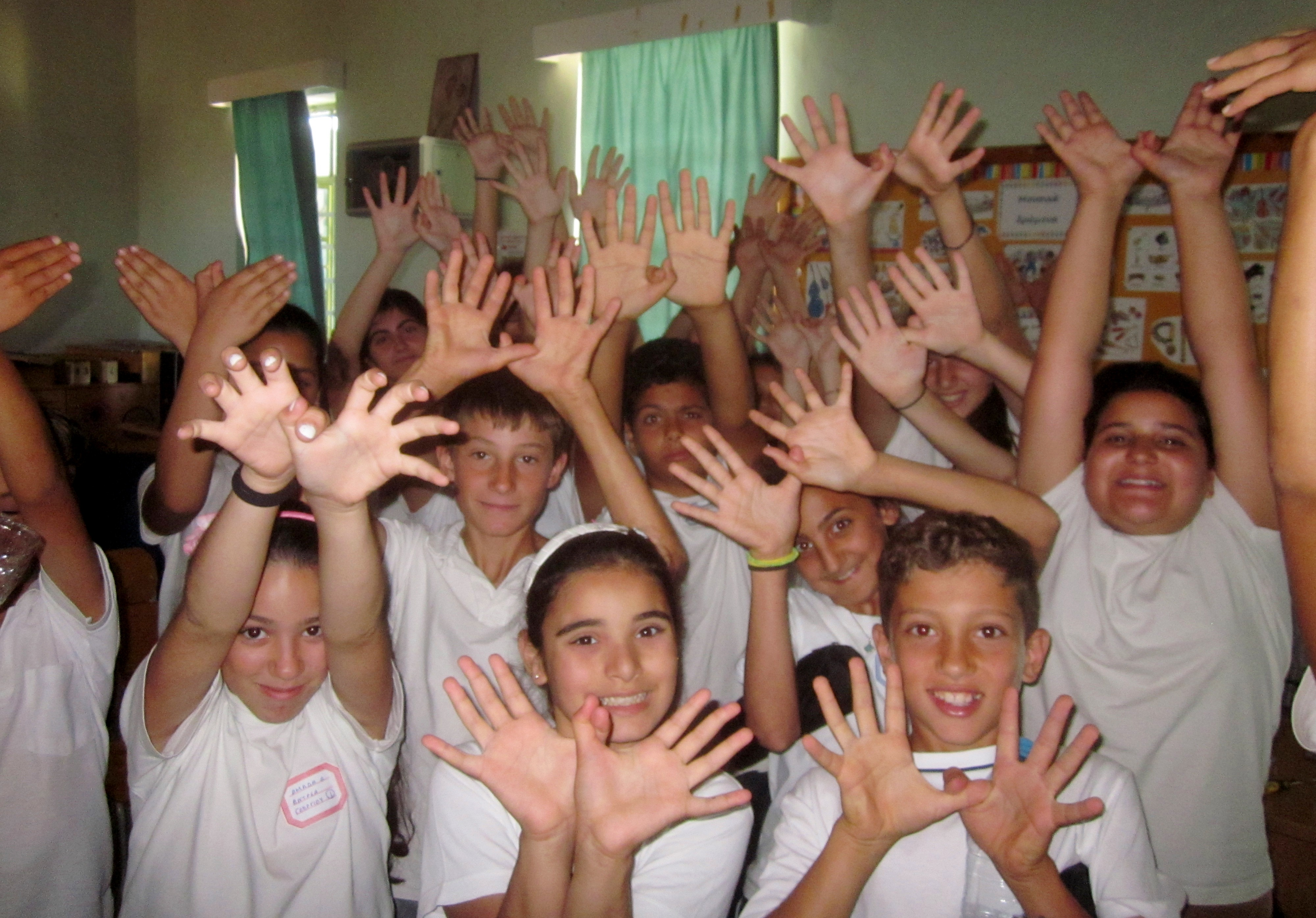 Students from primary schools of Cyprus are also involved!!