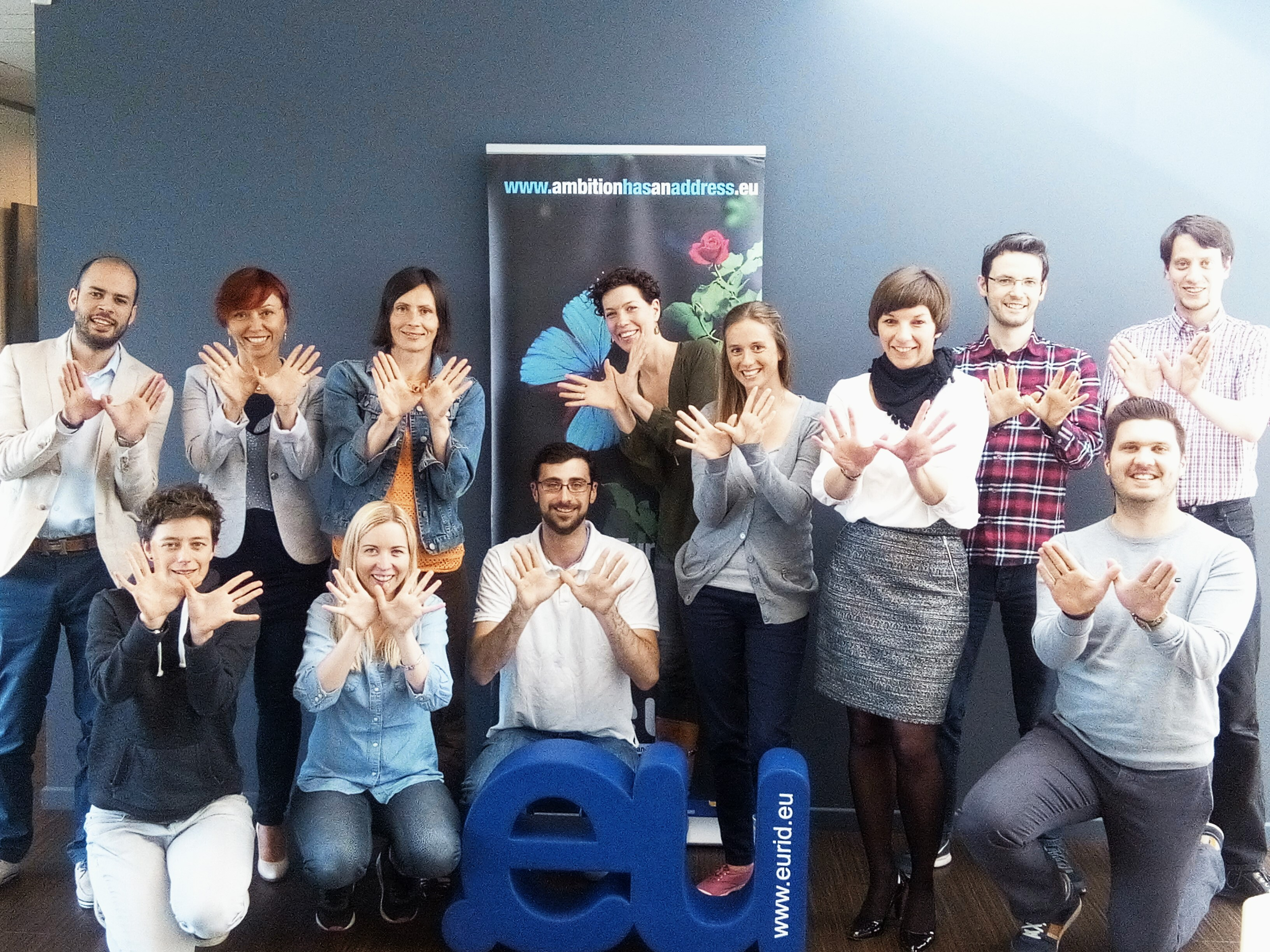The @EUregistry supporting #natura2000day. Join the butterfly effect: www.natura2000day.eu