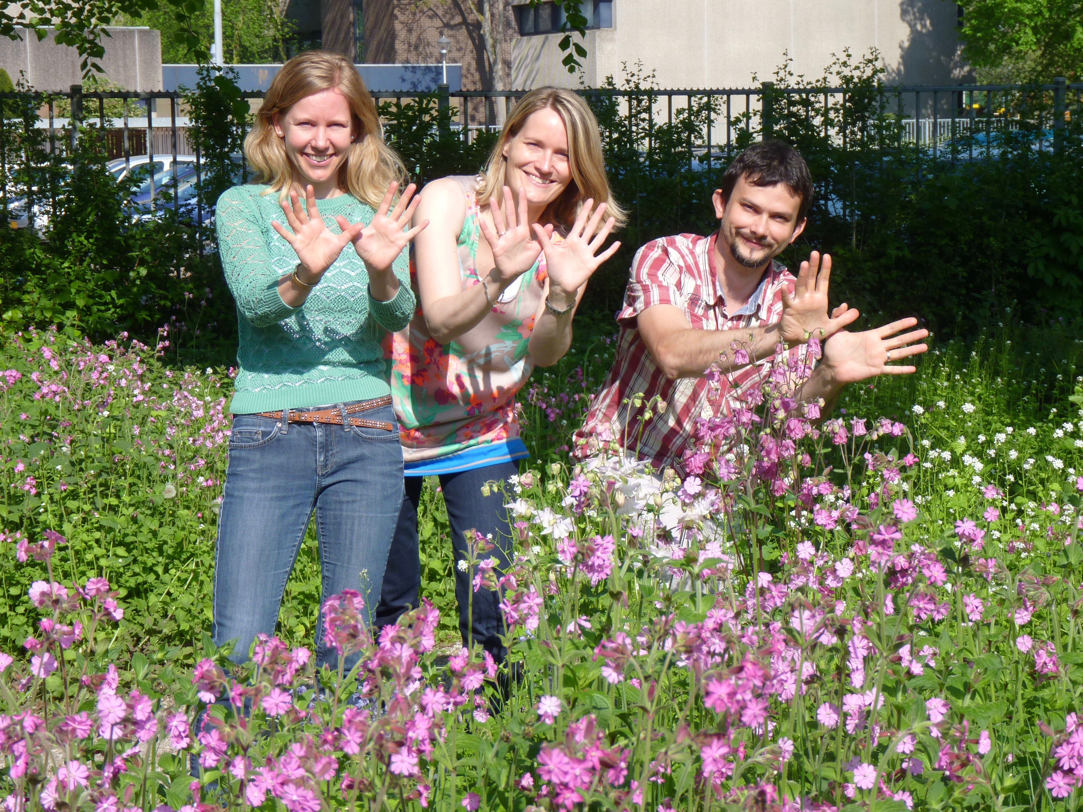 The Eurosite team makes a gesture for our natural sites!