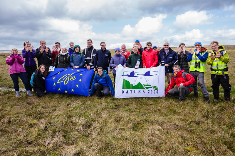 Launch of MoorLIFE 2020 project – protecting active blanket bog in the Peak District and South Pennines